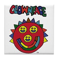 Clownface Tile Coaster