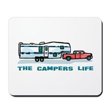 The campers life Mousepad