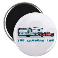 The campers life Magnet