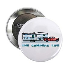 """The campers life 2.25"""" Button"""