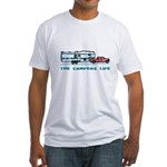 The campers life Fitted T-Shirt