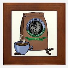 Caffeinated Kitty Blend Framed Tile