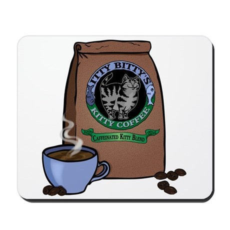 Caffeinated Kitty Blend Mousepad
