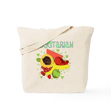 Vegetarian Fruit Tote Bag