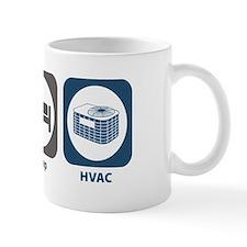 Eat Sleep HVAC Small Mug