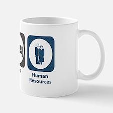 Eat Sleep Human Resources Mug