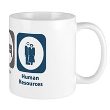 Eat Sleep Human Resources Mug