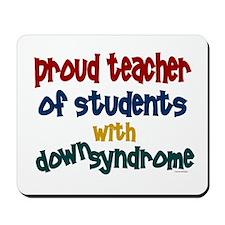 Proud Teacher....2 (Students DS) Mousepad