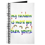 More gay rainbow Journal