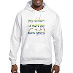 More gay rainbow Hooded Sweatshirt