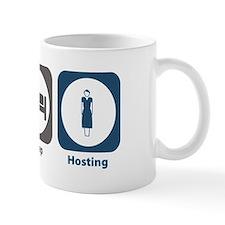 Eat Sleep Hosting Mug
