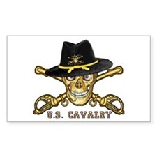 Forever Cavalry Rectangle Decal