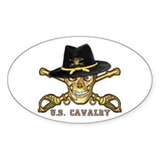 Forever Cavalry Oval Decal