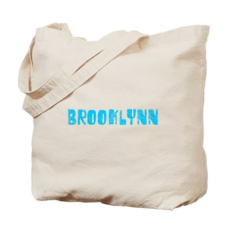 Brooklynn Faded (Blue) Tote Bag
