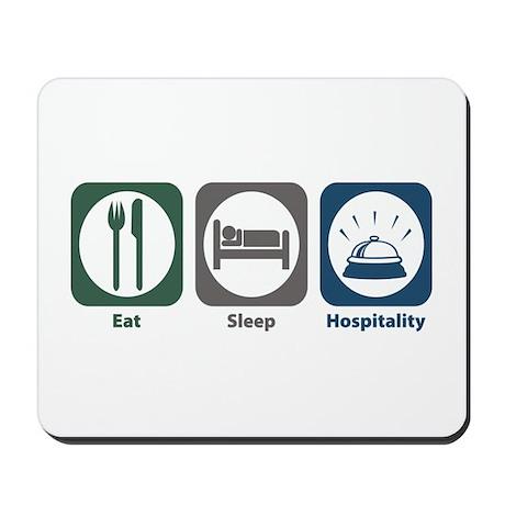 Eat Sleep Hospitality Mousepad