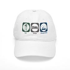 Eat Sleep Hospitality Baseball Cap