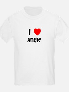 I LOVE ANGIE Kids T-Shirt