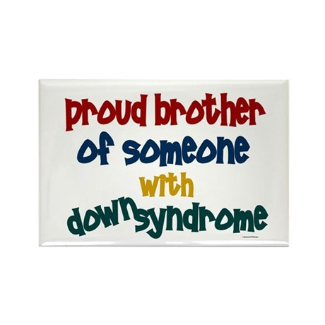 Proud Brother....2 (DS) Rectangle Magnet (10 pack)