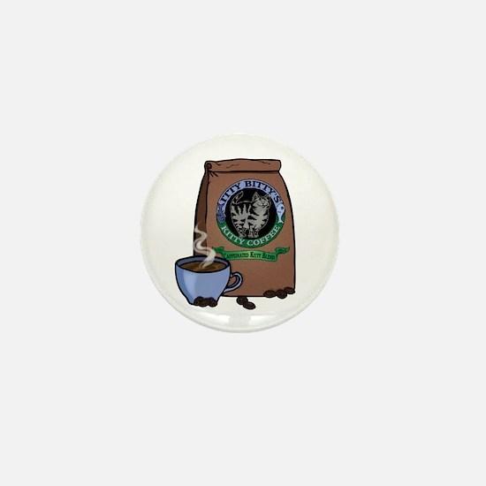 Caffeinated Kitty Blend Mini Button
