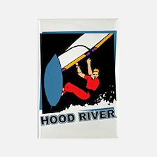 Hood River Windsurfing T-shir Rectangle Magnet