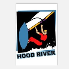 Hood River Windsurfing T-shir Postcards (Package o