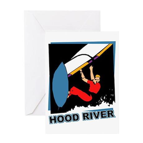 Hood River Windsurfing T-shir Greeting Card