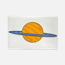 Cute Planet Picture 2 Rectangle Magnet