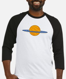 Cute Planet Picture 2 Baseball Jersey