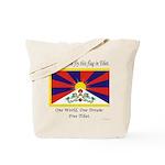 Tibetan Flag Tote Bag