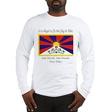 Free Tibet Long Sleeve T-Shirt