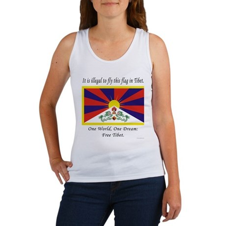 Free Tibet Women's Tank Top