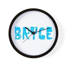Bryce Faded (Blue) Wall Clock