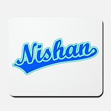 Retro Nishan (Blue) Mousepad