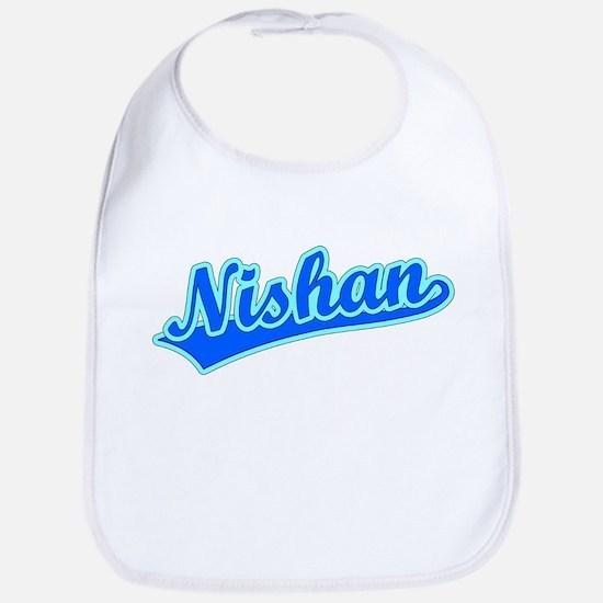 Retro Nishan (Blue) Bib