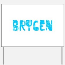 Brycen Faded (Blue) Yard Sign
