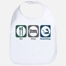 Eat Sleep Herpetology Bib