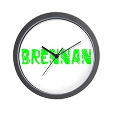 Brennan Faded (Green) Wall Clock