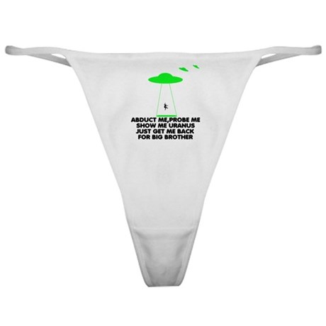 Big Brother parody humor Classic Thong