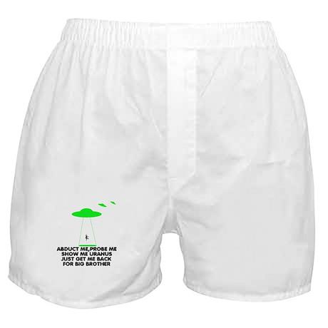 Big Brother parody humor Boxer Shorts