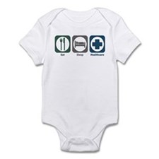 Eat Sleep Healthcare Infant Bodysuit