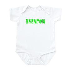 Brenton Faded (Green) Infant Bodysuit