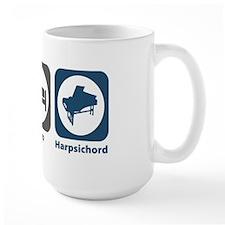 Eat Sleep Harpsichord Mug