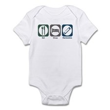 Eat Sleep Harmonica Infant Bodysuit