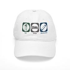 Eat Sleep Harmonica Hat