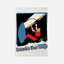 Columbia River Gorge Windsurfer Rectangle Magnet