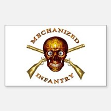 Mechanized Infantry Rectangle Decal