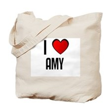 I LOVE AMY Tote Bag