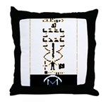 Space Missionary Throw Pillow