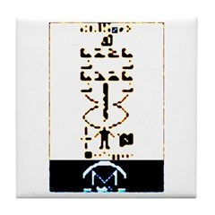 Space Missionary Tile Coaster