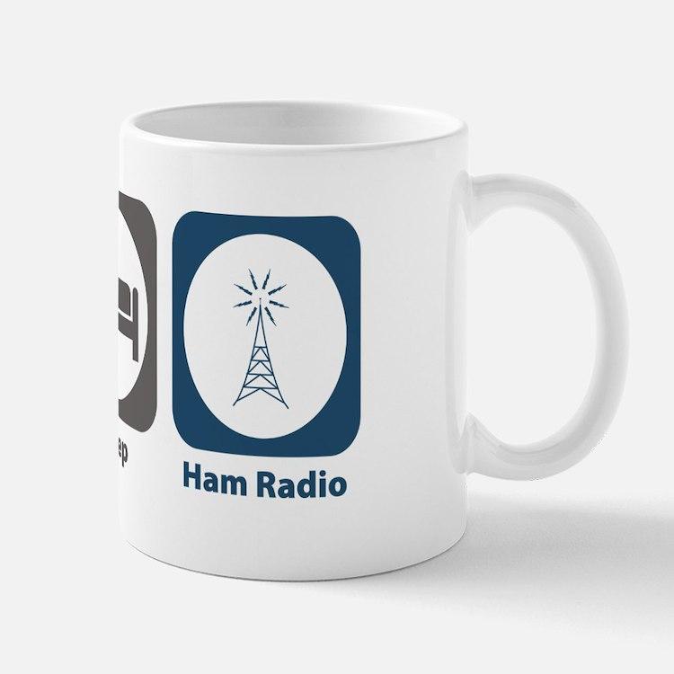 Eat Sleep Ham Radio Mug